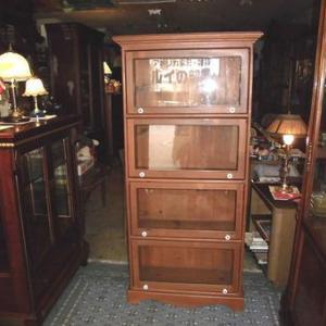アメリカ家具  スタッキング 4段ガラスキャビネット 飾り棚