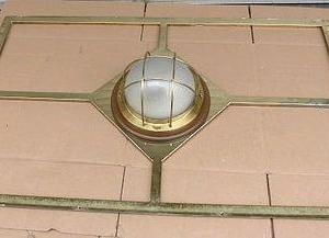 船舶ライト 豪華船長室の枠付き天井ランプ