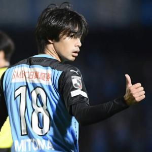 川崎フロンターレ・三笘薫(23)  30試合  12得点  8アシスト