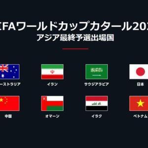 W杯アジア最終予選のポット1~3での最弱は韓国??