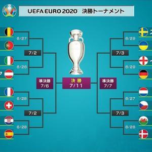 【悲報】EURO2020、決勝トーナメント組み合わせが決まったのに話題にならない…