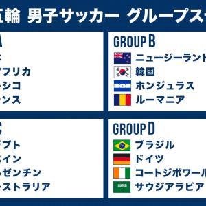 【東京五輪】サッカー日本代表さん、厳しいグループなのに突破しそう!!