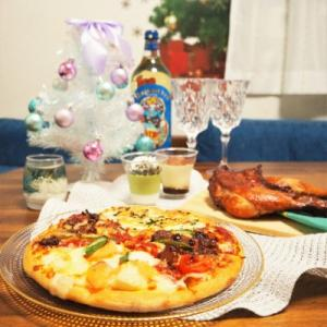 【デリバリー】新作ピザとチキンでホームパーティー☆
