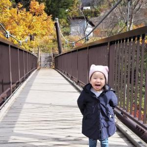 【水上温泉】紅葉や利根川の渓谷美を堪能できる・与謝野晶子歌碑公園☆