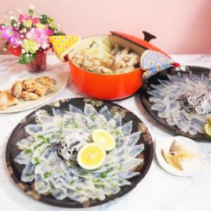 【お取り寄せグルメ】豪華ふぐ料理セット(エクセレントフーズ)でおうちごはん☆