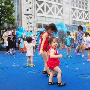 【東京ドームシティ】わくわく!ウォーターガーデン2019で水遊び☆