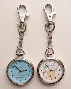 かわいいポメ時計