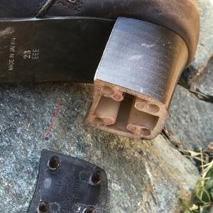 靴底の修理