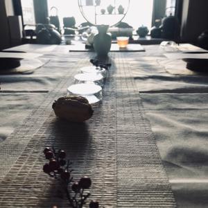 梅花開五福 中国茶と薬膳和菓子のお茶会