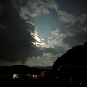 夜釣りよ今夜もありがとう「沼津市西浦の久連(くずら)」で釣りをしました