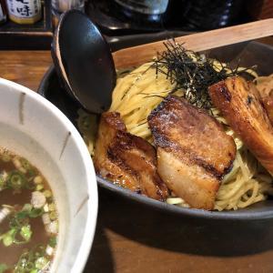 桜風さんで相変わらず「豚バラチャーシューつけ麺」