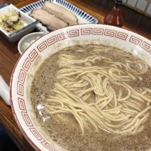 炭火焼濃厚中華そば 倫道さんで今回は「鮭」次はラストだ!!