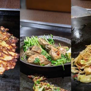 堀川北大路からちょっと上がったところにあるお好み焼き屋さん「大徳寺 喜代」さん。うまい!!食べすぎた!!