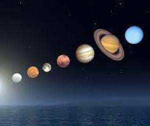 今日、7月4日に惑星直列が起こるとザワついてます。