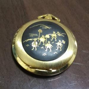 懐中時計の電池替え