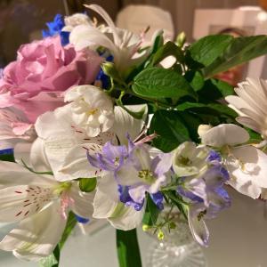 エントランスのお花の名前