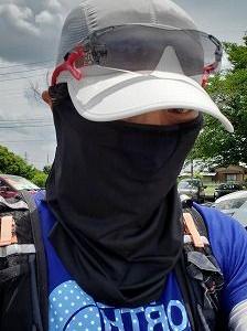 怪しいフェイスマスク・・・怪しくないのも登場