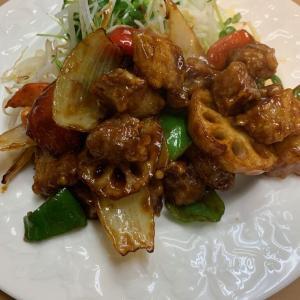 酢豚 バルサミコソース