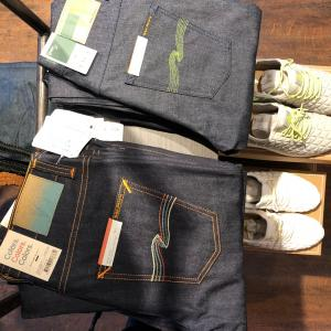 Nudie jeans colors green collection 限定各サイズ1本ずつ
