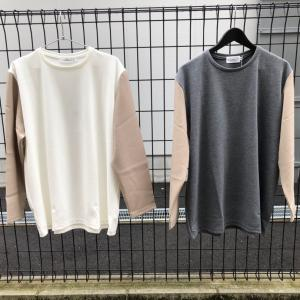 Liss×An 2021FW new 新作秋物切り替えロンTEE 各サイズ1点ずつ入荷!
