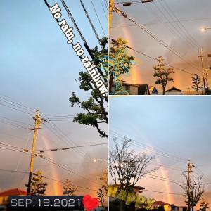 【雨と虹と光と。】