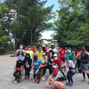 中村公園へお出かけラン