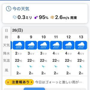 【重要】7/26(日)東山一万歩コース練習内容の変更