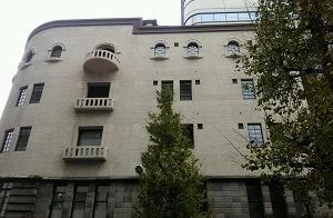 ビルの窓 日本橋(東京)