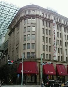 百貨店の窓 日本橋(東京)