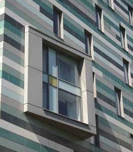 ホテルの窓 マンチェスター(イギリス)