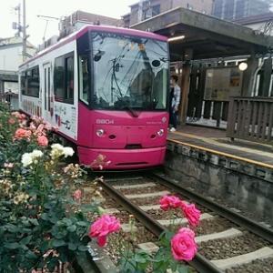 ◆ コーヒーブレイク 電車の窓  三ノ輪橋(東京)