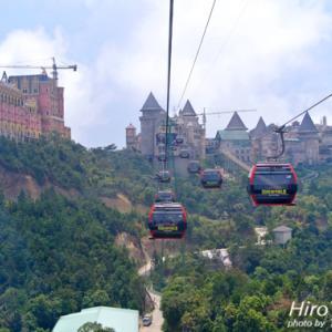 ダナン★Ba Na Hills 中世フランスの世界が広がる山頂のテーマパーク