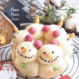 SnowManの3Dちぎりパン