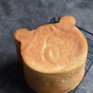 ショック!今が買いでした!!クマ型食パン【レシピ付き】