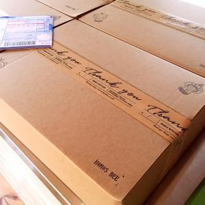 お待たせしました☆オンラインレッスンの材料・レシピ郵送しました!