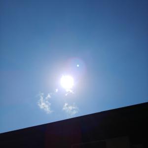 今日の空。 July.31