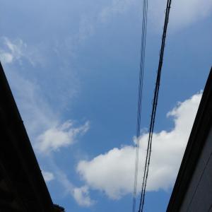 今日の空。  Aug.1st
