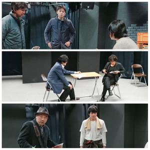 3月公演『モナリザの左目』稽古真っ最中!