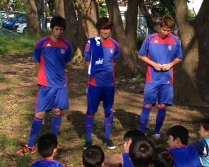 FC東京 青赤戦士登場!
