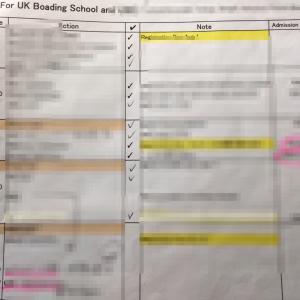 イギリス6th form 受験、タイムライン