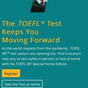 TOEFL IBTを自宅で受ける方法