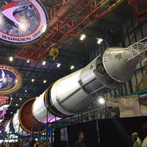 ケネディー宇宙センターでロケット発射を観る②