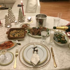 デジャヴのクリスマスディナー2020——どうぞ良いお年を。