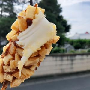 《韓国風ファーストフード》#ローソン #チーズドック2 #まるきん #味付豚足