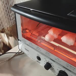 《トースター新調》お餅くっつかない #象印 #こんがり倶楽部 EQ-SA22-BW