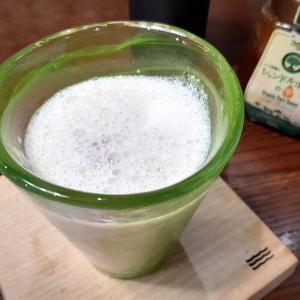 《 自家製梅ラッシー 》業務スーパー購入蜂蜜 冷凍ヨーグルト&牛乳 #梅シロップ