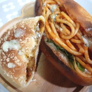 《スーパーのパン 》ヨークマート #焼きカレーパン #ナポリタンサンド