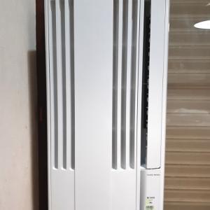 《 コロナ製 窓用エアコン 》女性ひとりで取付けしてみた CW-1621(WS)