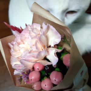 ポストで受取可能☆《 お花の定期便 》bloomee(ブルーミー) #5回目 #お彼岸