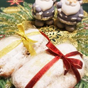 クリスマスレッスンのお知らせ 中種法で作るしっとりシュトーレン【白神こだま酵母編】